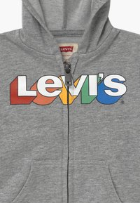 Levi's® - RAINBOW LOGO ZIP UP HOODIE  - Bluza rozpinana - grey heather - 3