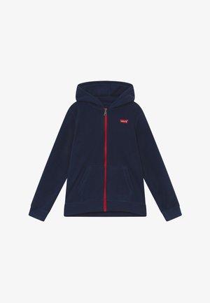 LOGO PATCH FULL ZIP - Fleece jacket - dress blues