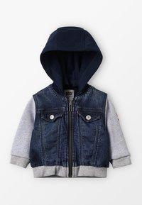 Levi's® - JACKET CLIF BABY - Hoodie met rits - indigo - 0