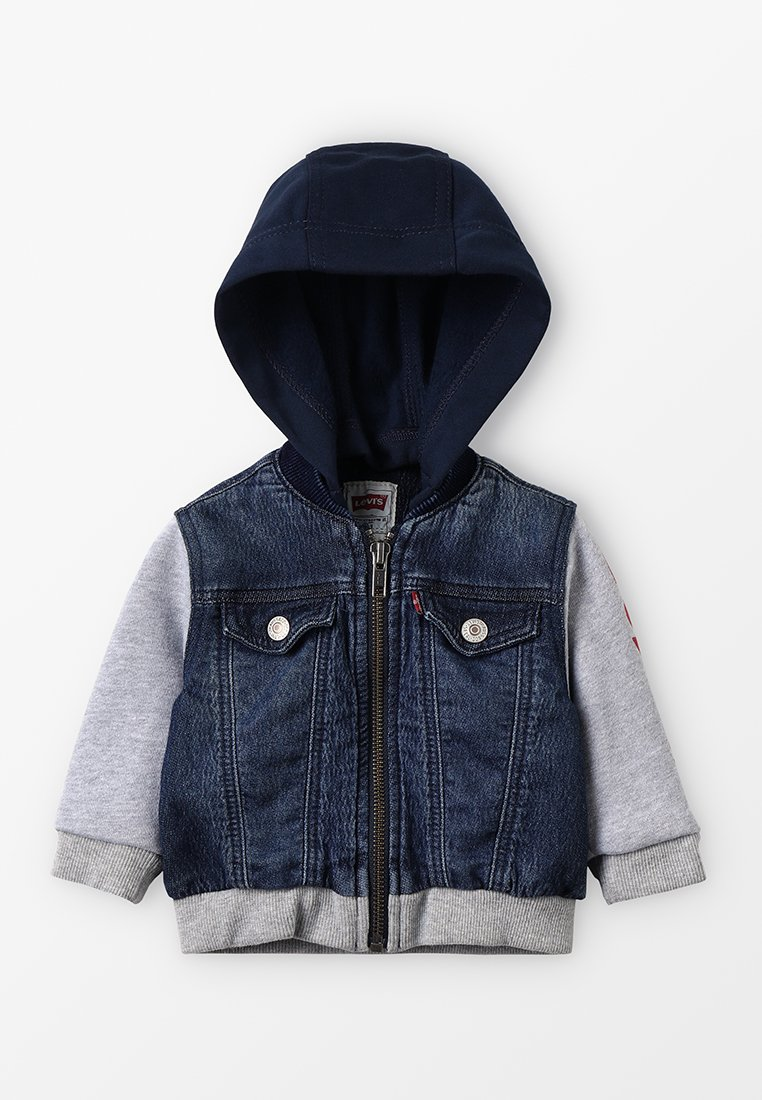 Levi's® - JACKET CLIF BABY - Hoodie met rits - indigo