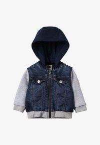 Levi's® - JACKET CLIF BABY - Hoodie met rits - indigo - 4