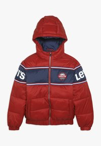 Levi's® - COLOR BLOCK II - Giacca invernale - pompeian red - 0
