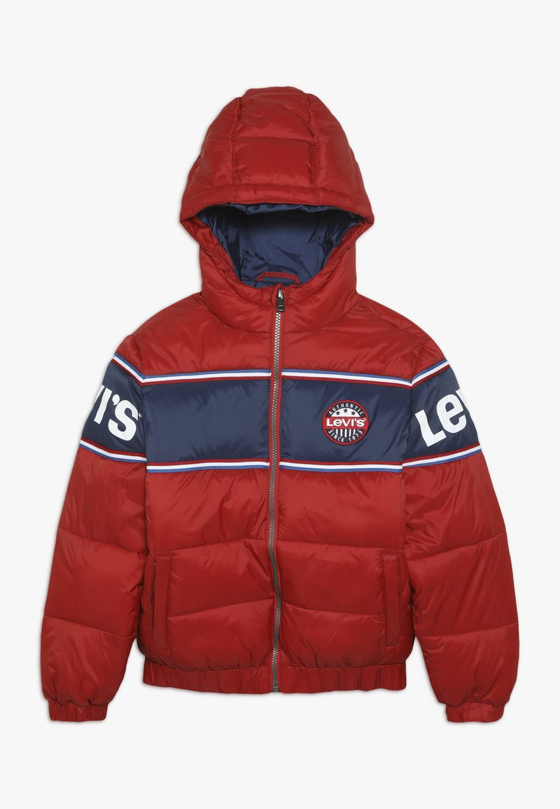Levi's® - COLOR BLOCK II - Giacca invernale - pompeian red