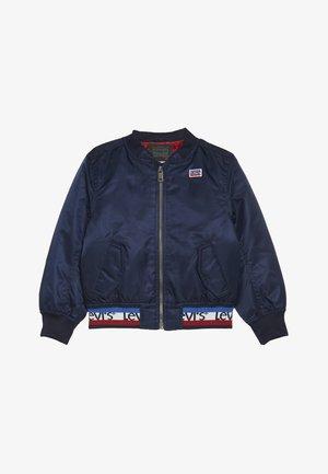 BOMBER - Winter jacket - dress blues