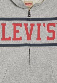 Levi's® - WAISTCOAT - Felpa aperta - gris chine - 3
