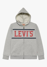Levi's® - WAISTCOAT - Felpa aperta - gris chine - 0