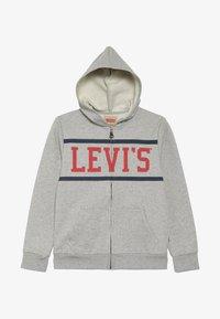 Levi's® - WAISTCOAT - Felpa aperta - gris chine - 2