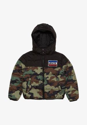 CHENILLE PUFFER III - Winter jacket - khaki