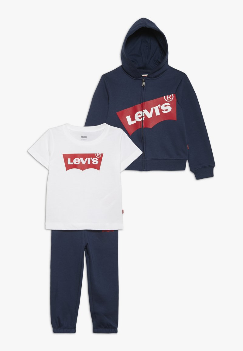 Levi's® - BIG LOGO HOODIE BABY SET - veste en sweat zippée - dress blues