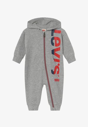 COLORED ZIP PLAY ALL DAY - Mono - grey heather