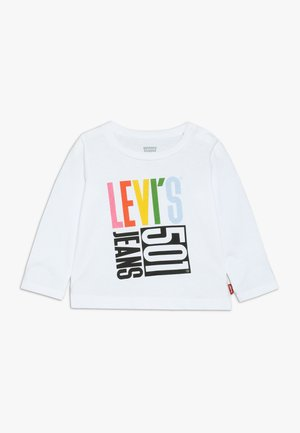 GRAPHIC TEE BABY  - Long sleeved top - white