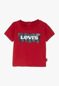 Levi's® - BATWING TEE - Triko spotiskem - red - 0