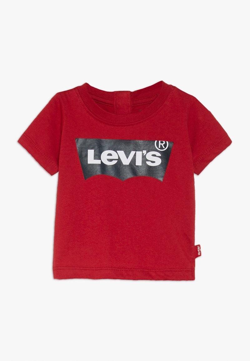 Levi's® - BATWING TEE - Triko spotiskem - red