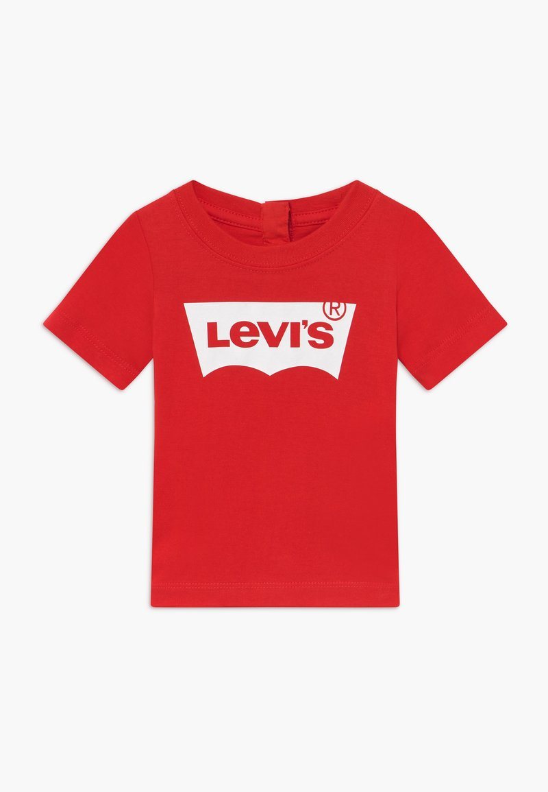 Levi's® - BATWING TEE - T-shirt con stampa - super red