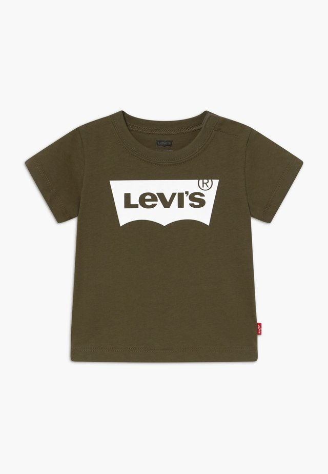 BATWING TEE - T-shirt print - olive night