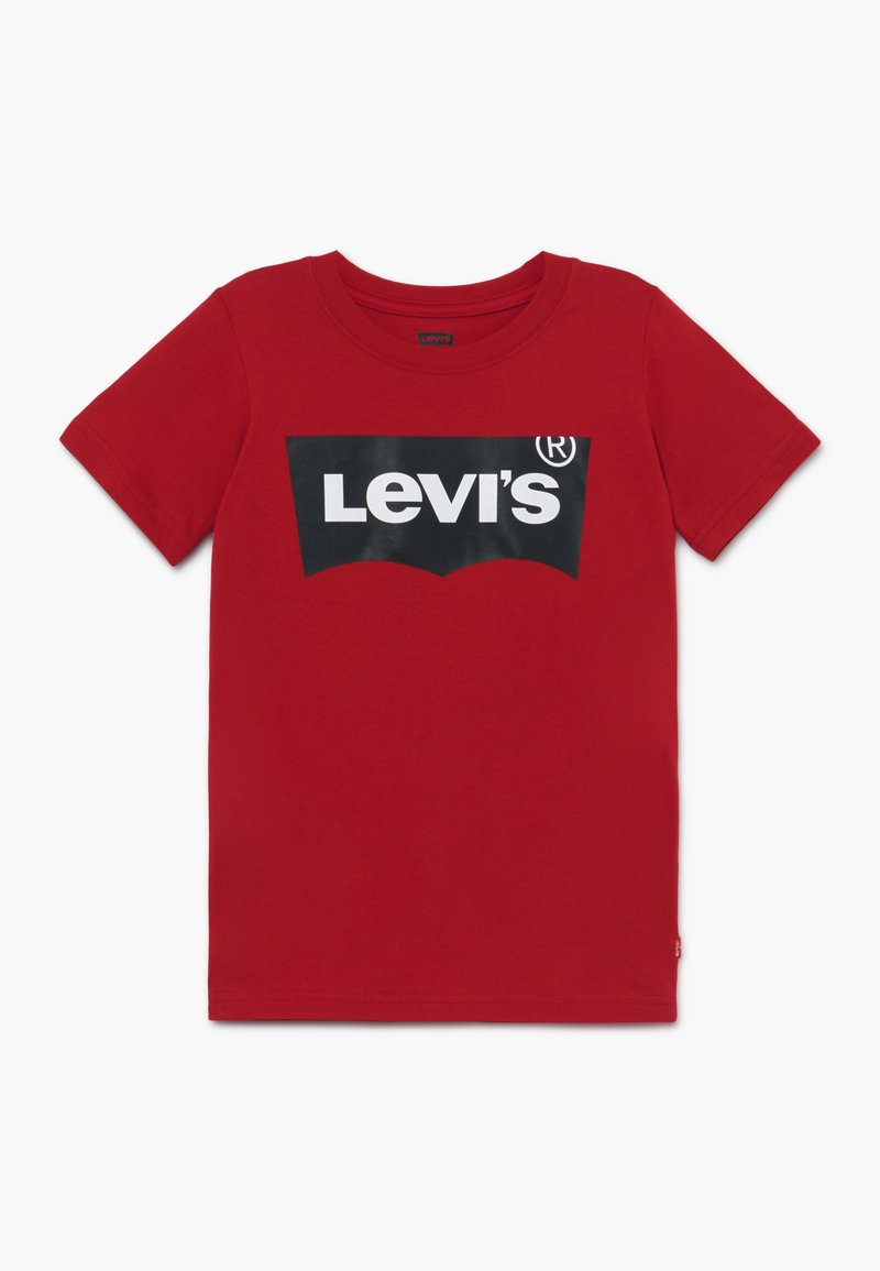 Levi's® - BATWING - T-shirt med print - red