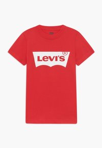 Levi's® - BATWING TEE - T-shirt print - super red - 0