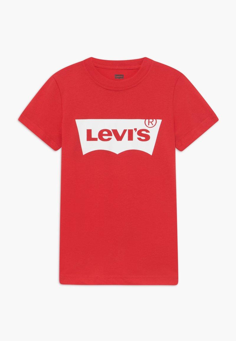Levi's® - BATWING TEE - T-shirt print - super red