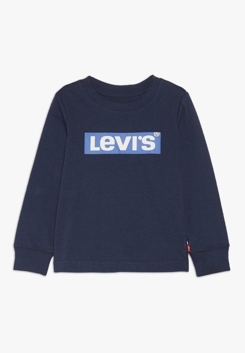 Levi's® - BOX TAB TEE - Top sdlouhým rukávem - dress blues/prince blue