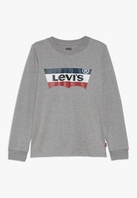 Levi's® - BATWING TEE - Langarmshirt - grey heather - 0