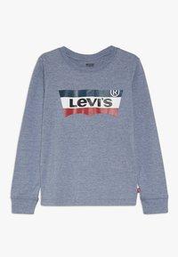 Levi's® - BATWING TEE - Camiseta de manga larga - navy heather - 0