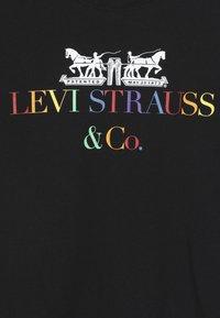 Levi's® - MULTI CORPORATE LOGO - T-shirt imprimé - caviar - 3