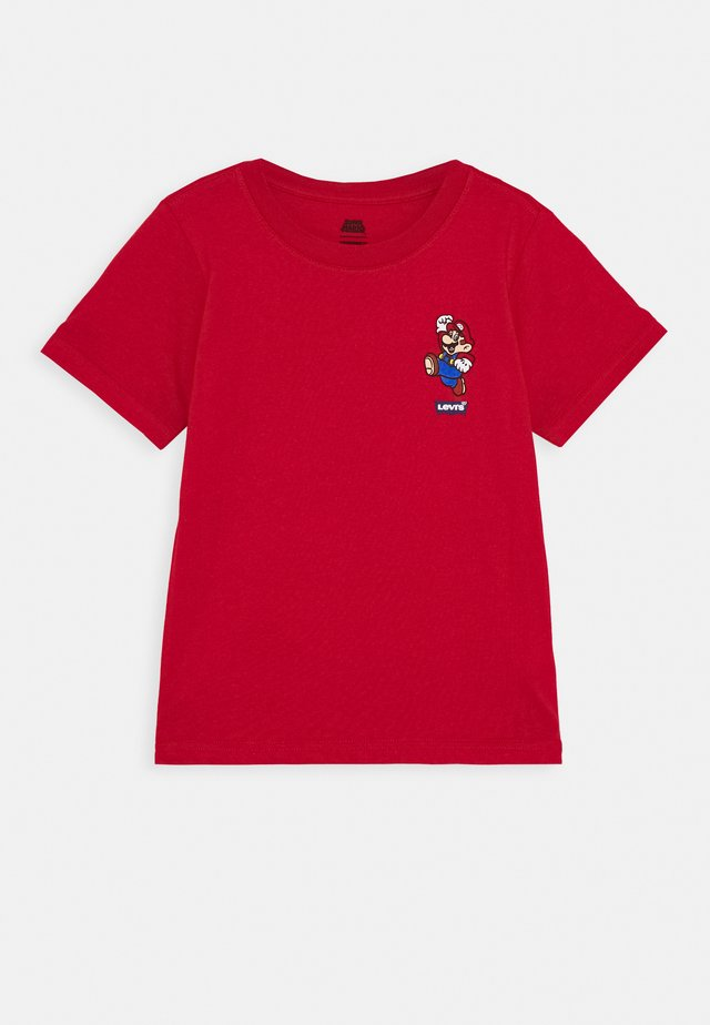 IT'S A ME MARIO TEE  - T-shirt imprimé - gym red