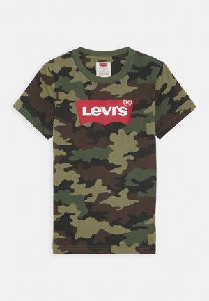 BATWING TEE - T-shirt imprimé - cypress