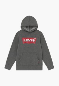 Levi's® - BATWING SCREENPRINT HOODIE - Luvtröja - charcoal heather - 0