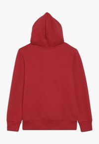 Levi's® - BATWING SCREENPRINT HOODIE - Jersey con capucha - red/white - 1