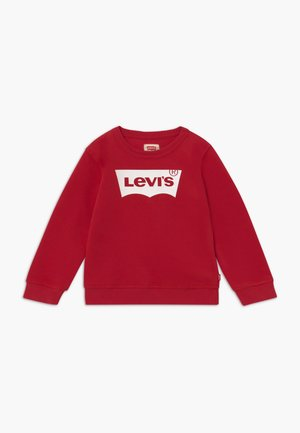 BATWING CREWNECK - Sweatshirt - levi's red/white