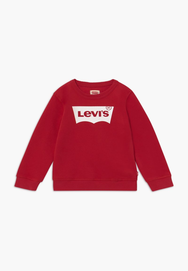 Levi's® - BATWING CREWNECK - Sweater - levi's red/white