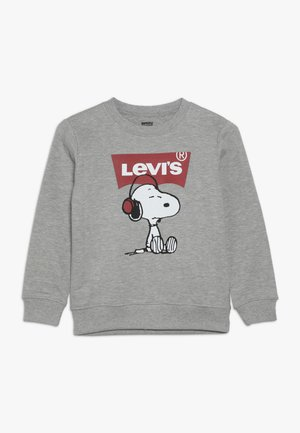 SNOOPY HEADPHONES CREW - Sweatshirt - grey heather