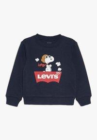 Levi's® - SNOOPY PILOT CREW - Sweater - obsidian - 0