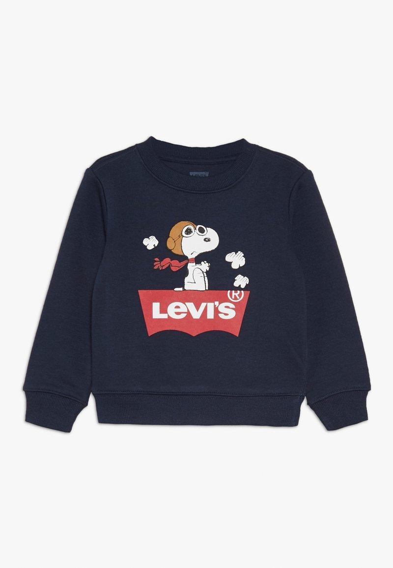 Levi's® - SNOOPY PILOT CREW - Sweater - obsidian