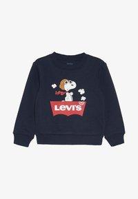 Levi's® - SNOOPY PILOT CREW - Sweater - obsidian - 2
