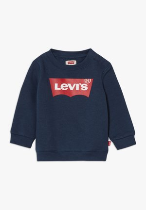BATWING CREWNECK - Mikina - dress blues