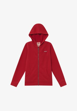 ZIP UP HOODIE - veste en sweat zippée - red