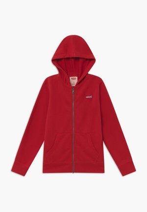 ZIP UP HOODIE - Mikina na zip - red