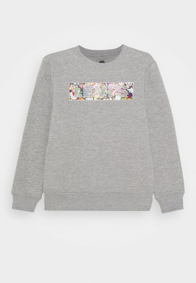 POWER UP CREWNECK  - Felpa - grey heather