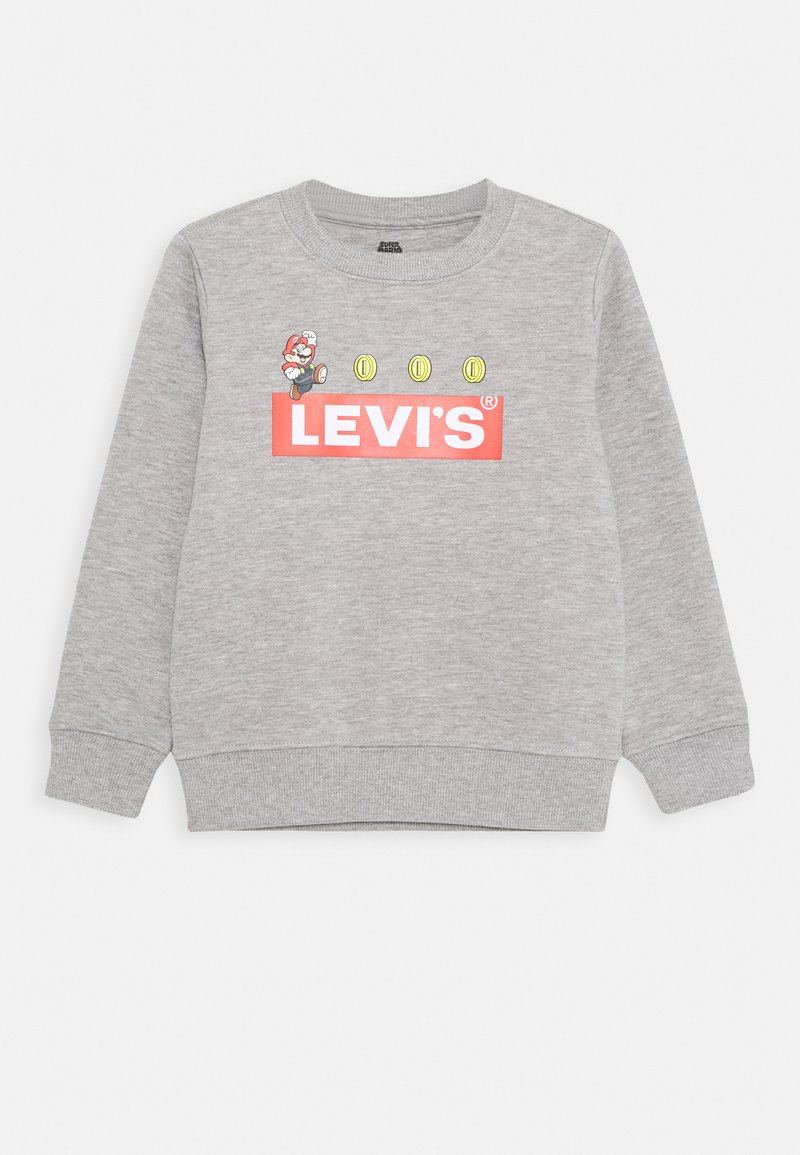 Levi's® - MARIO COIN CREWNECK - Sweatshirt - grey heather