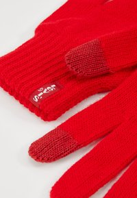 Levi's® - NEW TOUCH SCREEN GLOVES - Gloves - brilliant red - 3