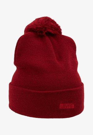 BABY TAB POM - Bonnet - dull red