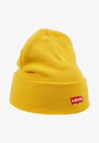 Levi's® - BATWING EMBROIDERED SLOUCHY BEANIE - Mössa - regular yellow - 3