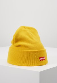 Levi's® - BATWING EMBROIDERED SLOUCHY BEANIE - Mössa - regular yellow - 0