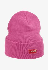 Levi's® - BATWING EMBROIDERED SLOUCHY BEANIE - Čepice - pink - 3