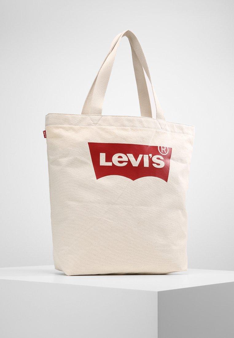 Levi's® - BATWING TOTE - Tote bag - ecru