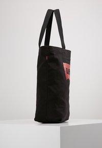 Levi's® - BATWING TOTE - Tote bag - regular black - 3