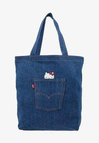 Levi's® - HELLO BACK POCKET TOTE - Velká kabelka - blue denim - 5