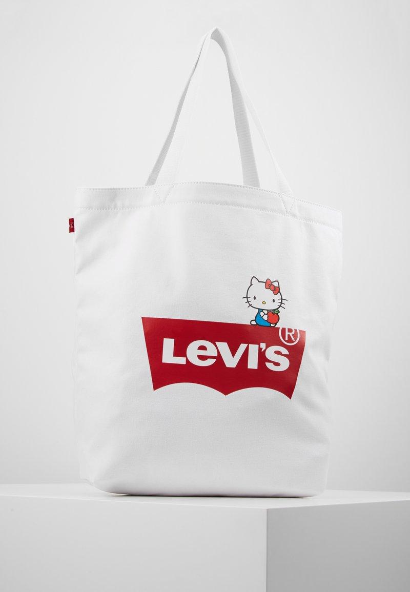 Levi's® - HELLO TOTE - Shopping Bag - regular white